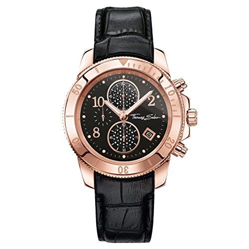 Thomas Sabo Chronograph Quarz Leder WA0204 213 203 40 mm