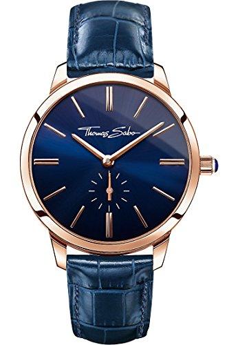 Thomas Sabo Glam Spirit rosegold blau Analog Quarz