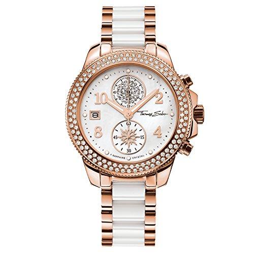 Thomas Sabo Damen Armbanduhr WA0173 262 202 38 mm