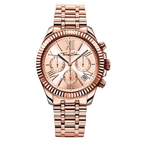 Thomas Sabo Damen Armbanduhr WA0222 265 208 38 mm