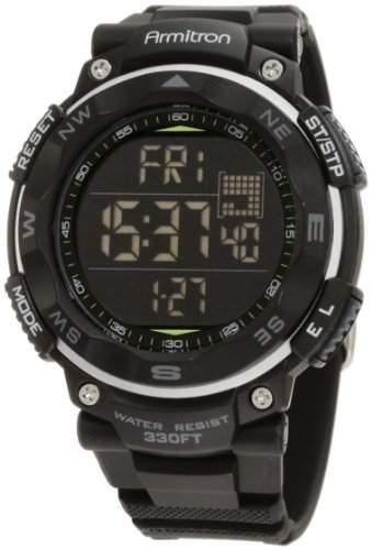 Armitron Sport Herren 408254blk schwarz Digital Chronograph