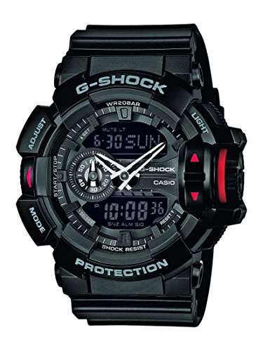 G-Shock XL G-Shock Analog Digital Quarz Resin GA-400-1BER