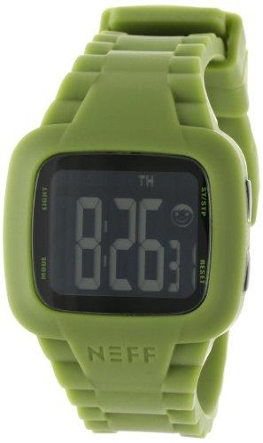 Neff Unisex-Armbanduhr Digital Quarz Grün